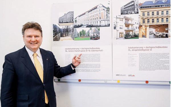 Neue Sanierungszielgebiet in 18 Wiener Bezirken