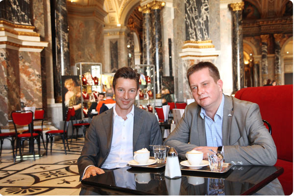 Cafe im Kunsthistorischen