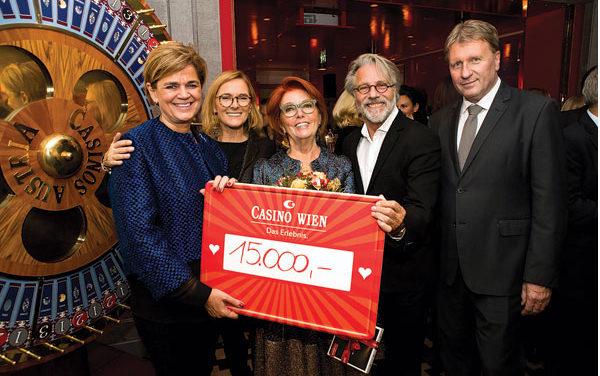 Charity Gala im Casino Wien für licht ins dunkel