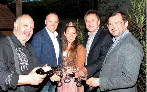 Die J5 – Weingüter präsentierten ihren neuen Jahrgang