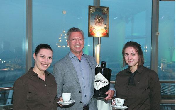 Hendrick's Gin – Punsch am Donauturm