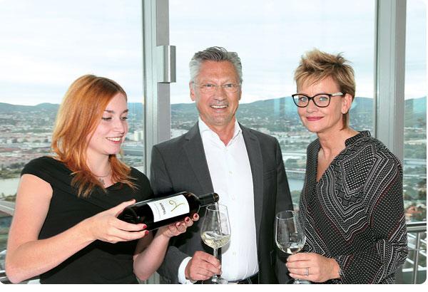 GF Bert Copar verkostet die edlen Krispel-Weine