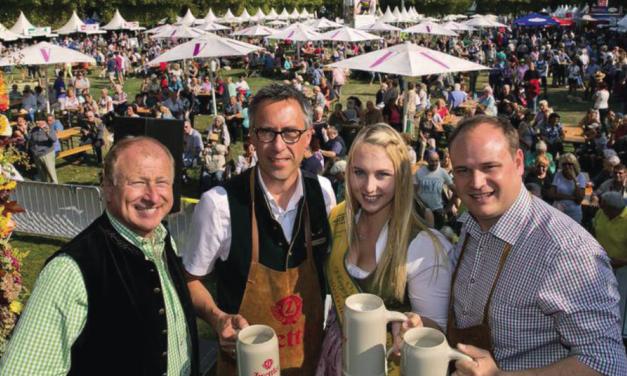 Grosses Erntedankfest im Wiener Augarten