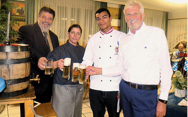 Kochverband zu Gast im Frohen Schaffen