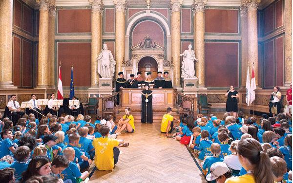 15 Jahres – Jubiläum Kinderuni – Wien