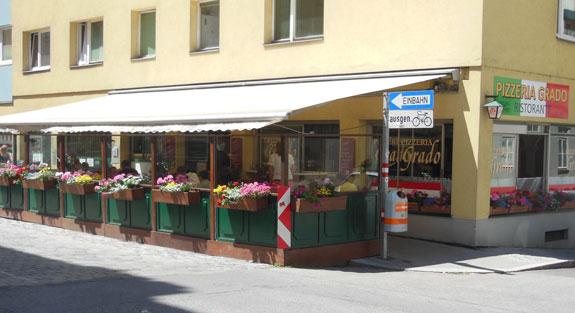 Pizzeria Grado Schanigarten