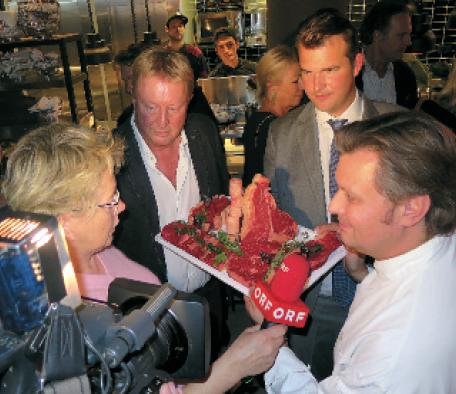 Küchenchef Christof Widakovich im Seitenblicke-Interview