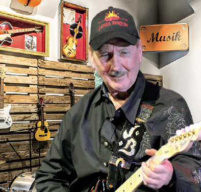 Legende James Burton im 48er – Tandler