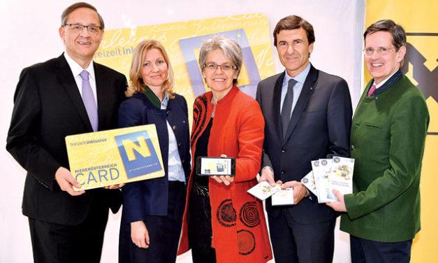 Die Niederösterreich – Card startet am 1- April in die Neue Saison