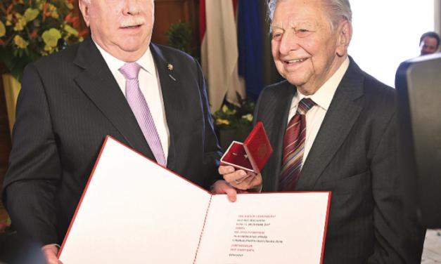 Prof. Dr. Hugo Portisch ist Wiener Ehrenbürger
