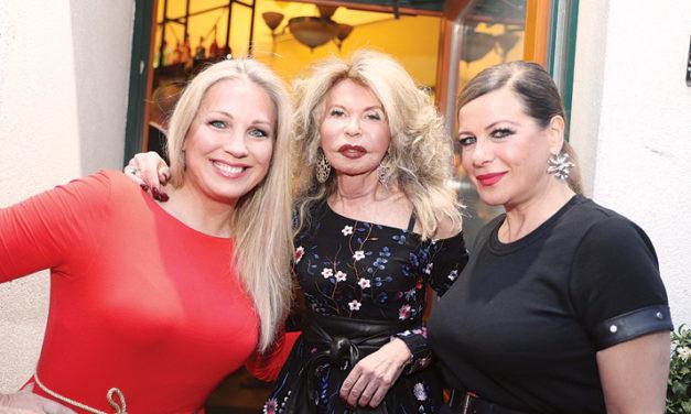 Jeannine Schillers VIP – Empfang in Hernals
