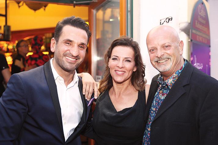 Jeannine Schiller Charity Cocktail, FADI MERZA, SABINE PETZL, GERY LUX