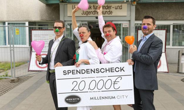 Neue Sponsoren für die AKH Kinderklinik in Wien