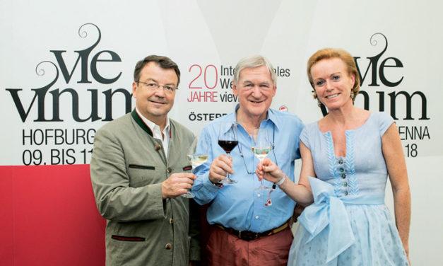 VieVinum 2018 – ein Jubiläum mit Stargast Hugh Johnson