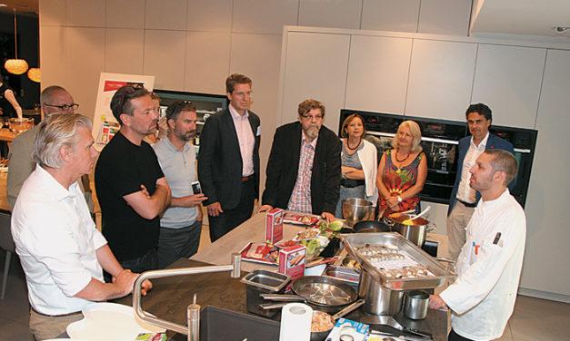 Häferlgucker im Küchenstudio des Grand Hotel Wien
