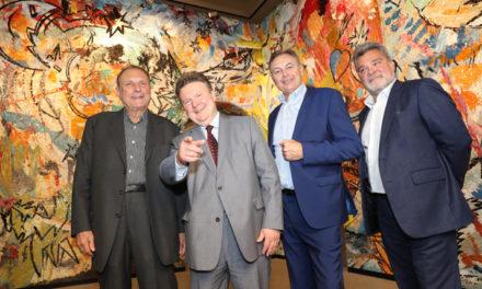 Attersee – Mosaik als Blickfang der neuen Gesiba – Zentrale