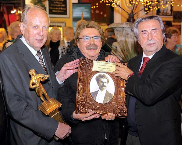 GOLDENER JOHANN STRAUß 2018, WERNER RESEL, RICCARDO MUTI, GERHARD BOCEK