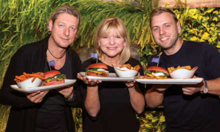 "Le Burger Präsentierte den ,,Licht ins Dunkel""- Burger"
