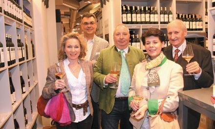 Halali in der Vinothek der Wein