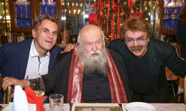 Nitsch's Vorweihnachtsfest mit eigenem Christkindlwein