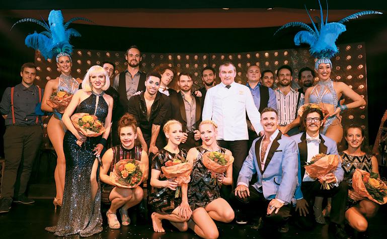 Toni Mörwald Palazzo 2018 Premiere am 13.11.2018 mit Ariana Savalas