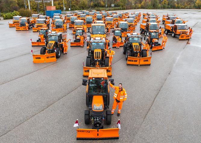 Winterdienst MA 48: Bis zu 322 Räum- und Streufahrzeuge stehen bereit