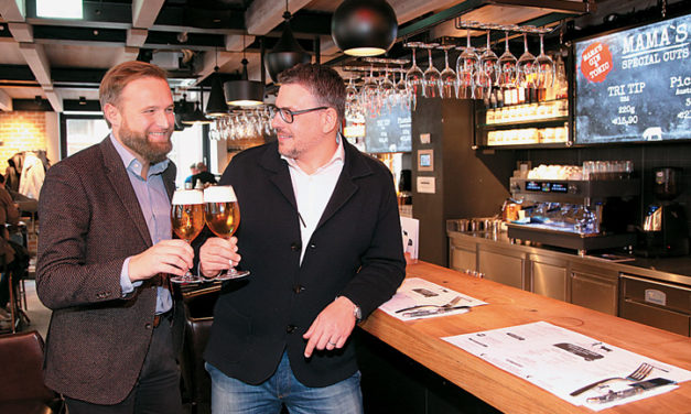 Tour de Biere in der City