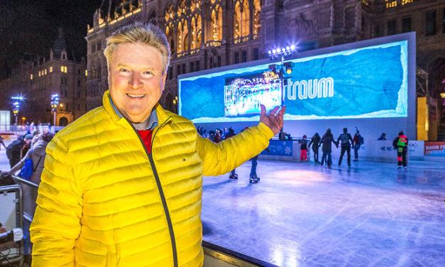 Der 24. Wiener Eistraum ist der größte Eistraum aller Zeiten