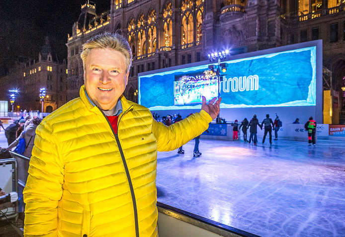 Wiener Eistraum Eröffnung_Bürgermeister Michael Christian Houdek