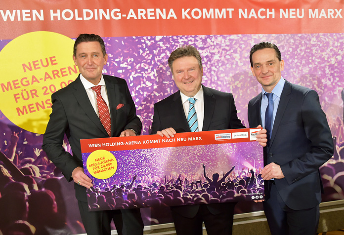 Mega-Arena kommt nach Neu-Marx