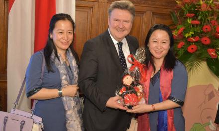 Chinesisches Neujahresfest im Wiener Rathaus