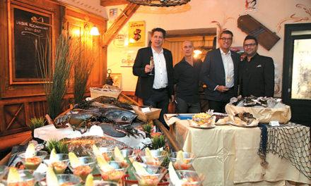 Fein essen in der alten Kaisermühle