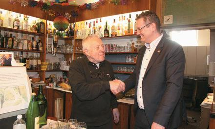 Floridsdorfer Urgestein Franz Sveceny wird geehrt