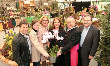 Feierliche Orchideentaufe im Stift Klosterneuburg