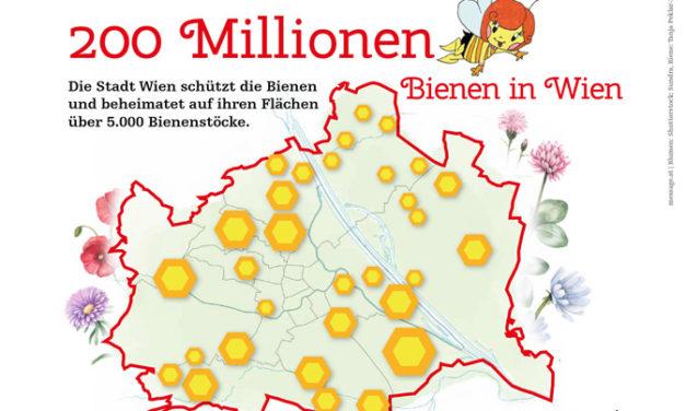 200 Millionen Stadt – Bienen leben und arbeiten in Wien