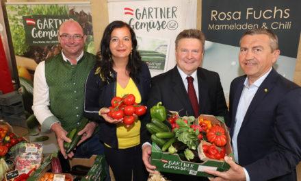 Gemüse aus Wien hat wieder Saison