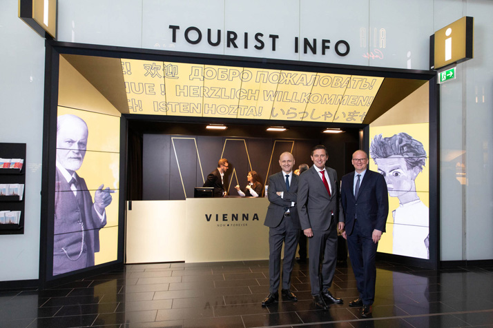 Tourist Info am Flughafen
