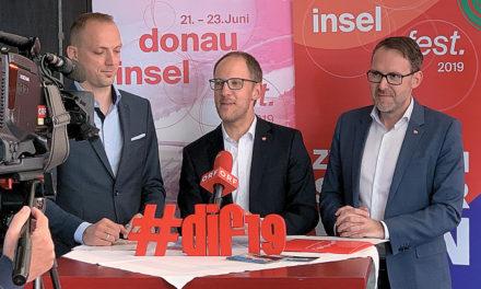 Der Countdown zum Donauinselfest 2019 hat begonnen