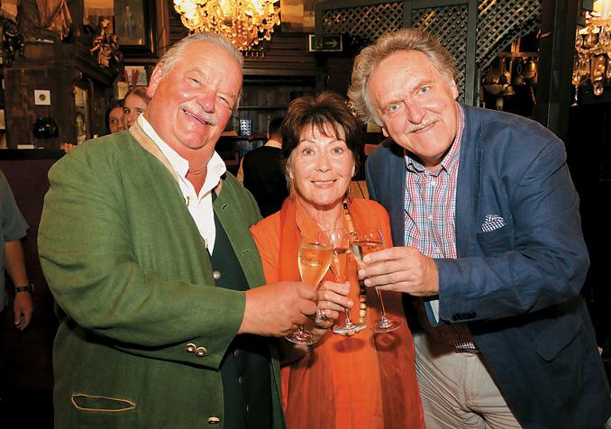 Goldener Hans Moser & 80er Geburtstag von Dany Sigel