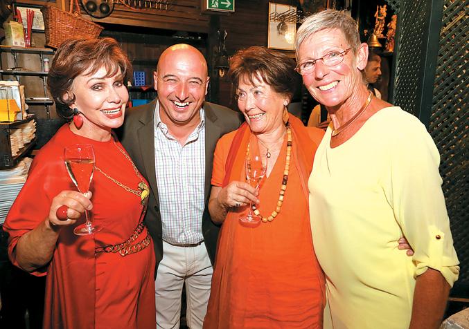 Goldener Hans Moser & 80er Geburtstag von Dany Sigel im Marchfelderhof am 08