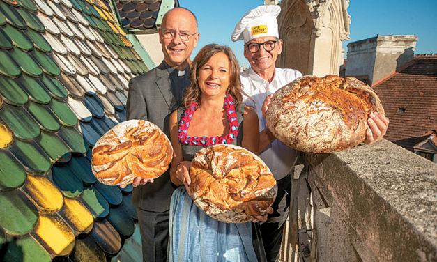 Himmlischer Brotgenuss im Wiener Stephansdom!