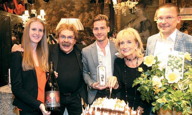 Überraschungsfest zu Dagmar Koller's 80.Geburtstag