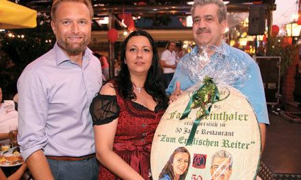 50. Jahre Restaurant Zum Englischen Reiter