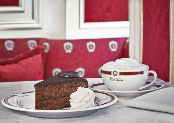 Hotel Sacher Wien, Sacher Torte und Kaffee © Hotel Sacher
