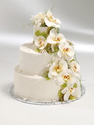 Orchidee-Hochzeitstorte GROISSBÖCK CAF