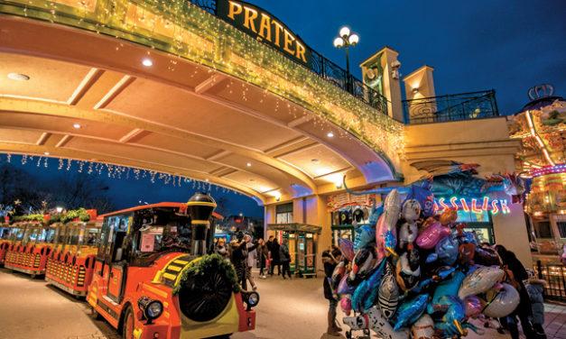 Zauberhafter Wintermarkt am Riesenradplatz