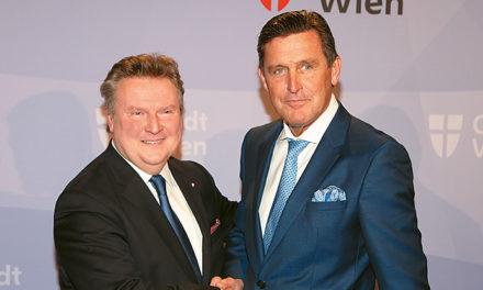 Vorzeigestadt Wien präsentiert sich international