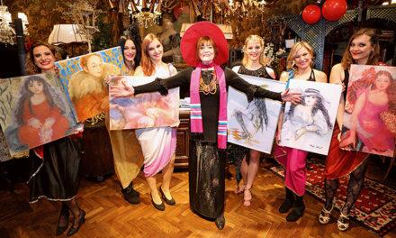 Grandioses Geburtstagsfest für Dina Larot