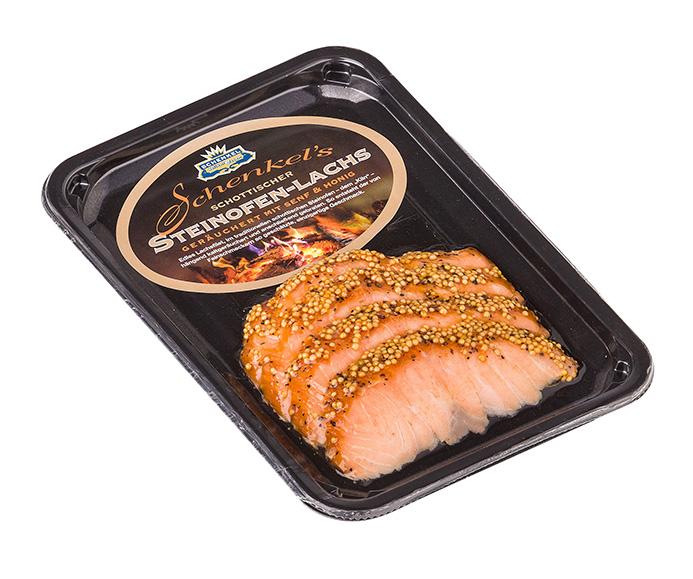 Schenkel Delikatessen_schottischer Steinofen-Lachs geräuchert mit Senf & Honig
