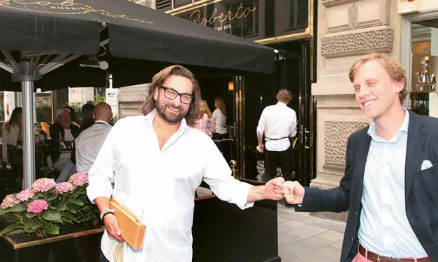 Laurent Perrier erobert die Wiener Bar – Szene